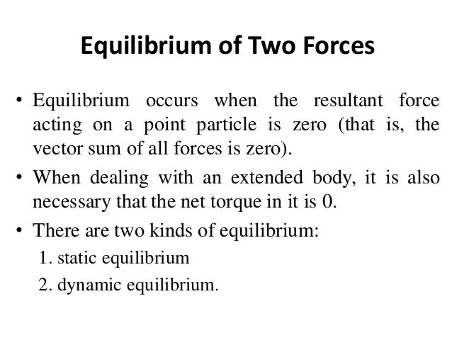 How did galileo prove the laws of equilibrium?