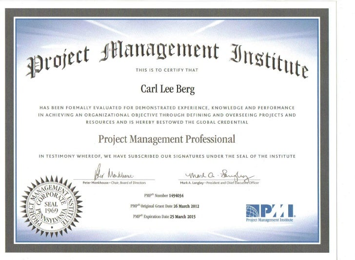 project management diploma