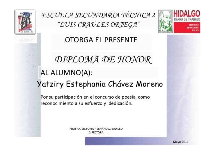 Diploma poesia