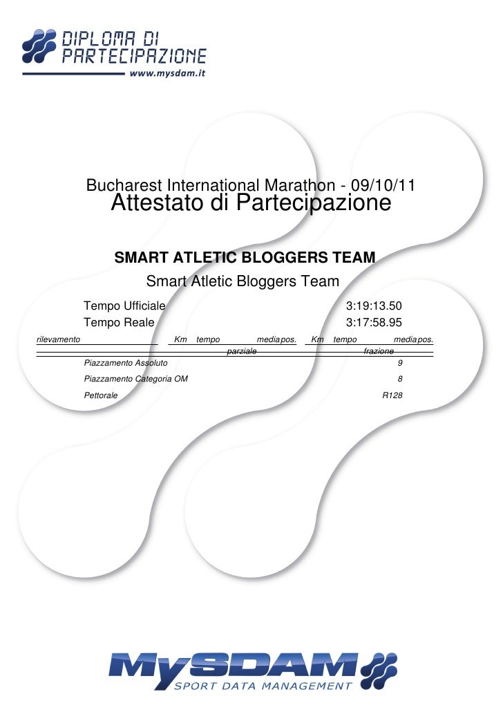 Diploma Smart Atletic Bloggers Team