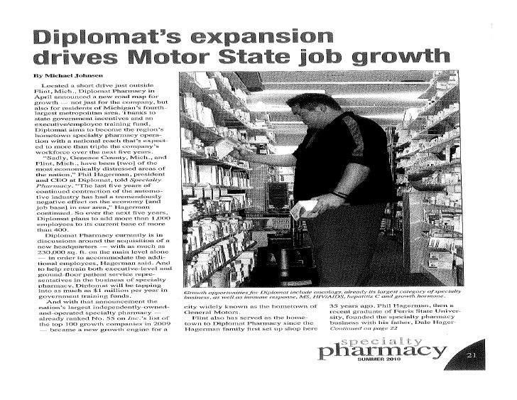 Diplomat S Expansion Drives Motor State Job Growth