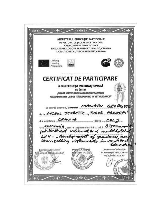 Diplome conf int liceul teoretic tudor arghezi