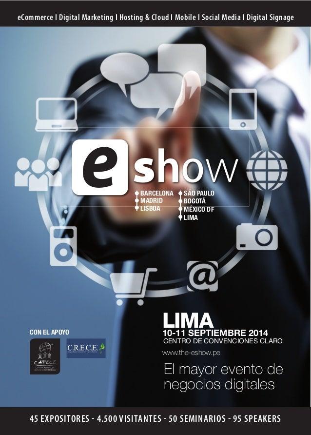 Diptico e show_lima