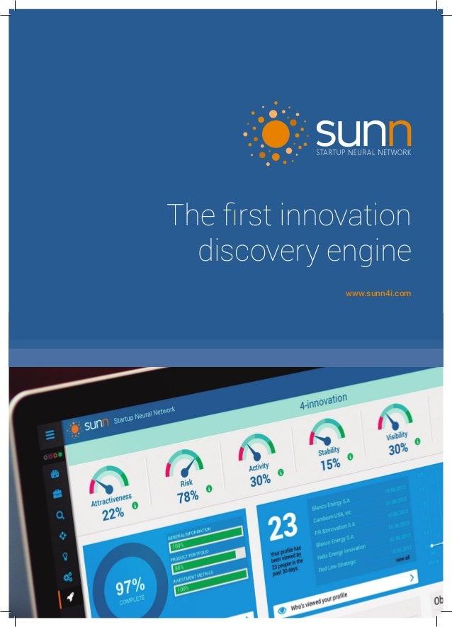 The first innovation discovery engine www.sunn4i.com