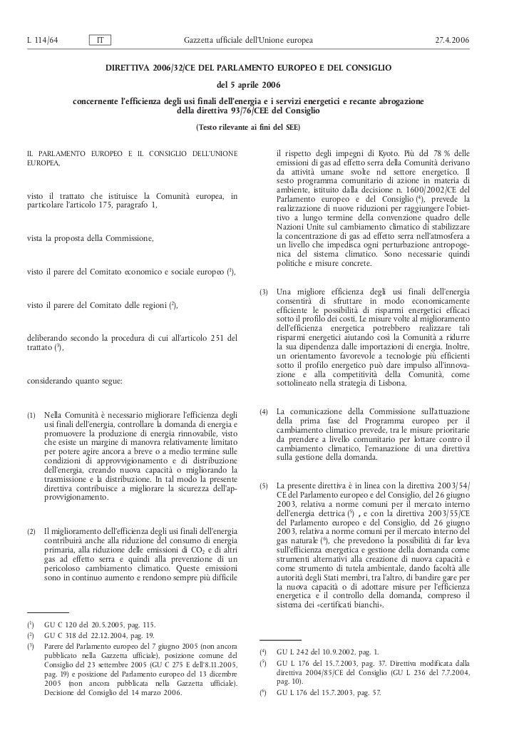 Direttiva 2006/32/CE