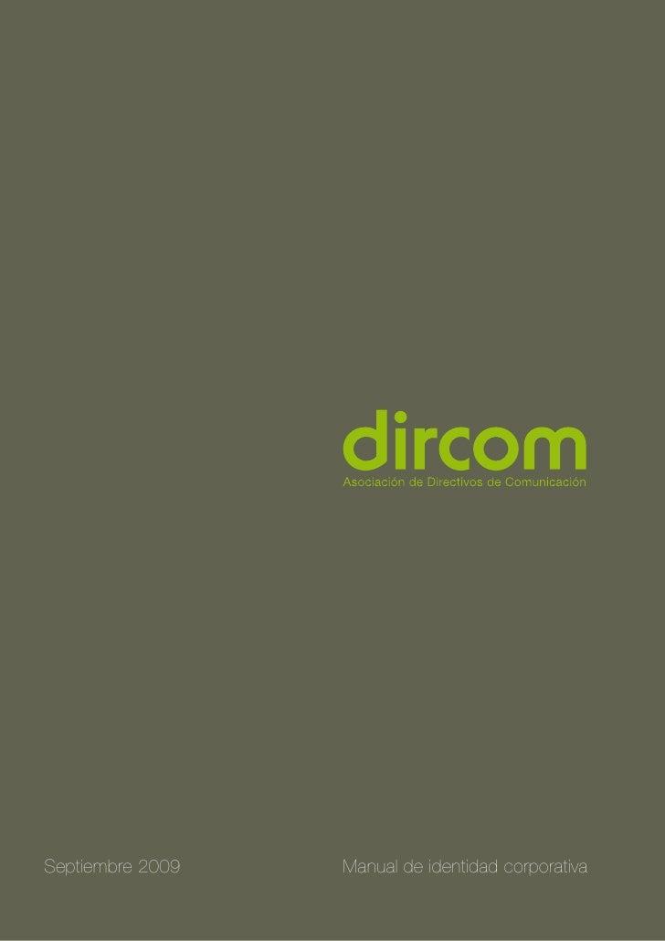 DIRCOM (Manual de Identidad Corporativa)