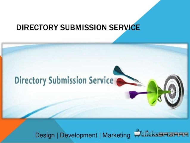 DIRECTORY SUBMISSION SERVICE Design | Development | Marketing