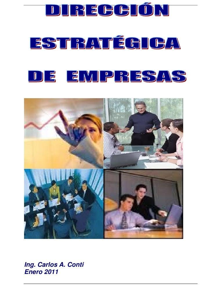 Ing. Carlos A. ContiEnero 2011