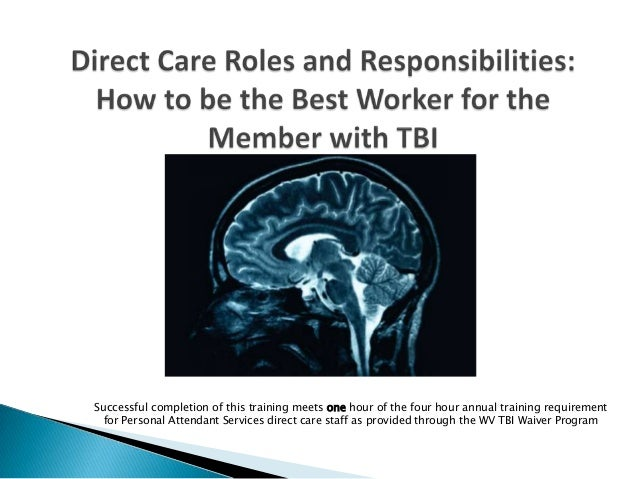 Direct care roles and responsibilities