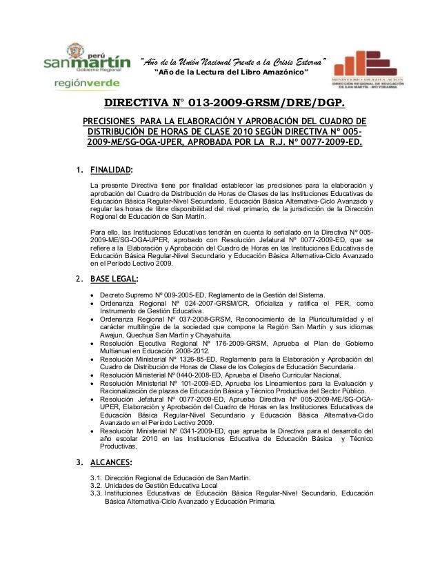 """""""Año de la Unión Nacional Frente a la Crisis Externa""""                                                                     ..."""