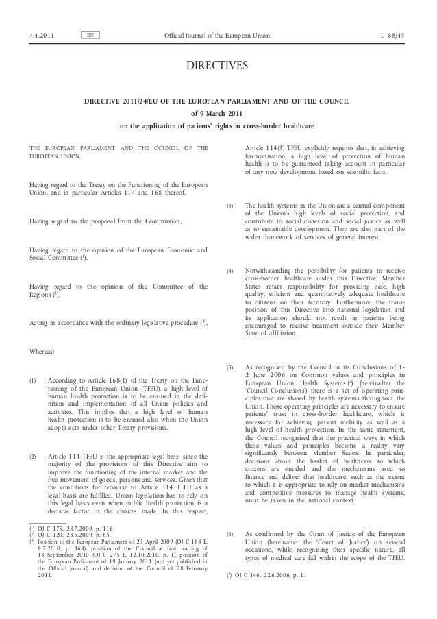4.4.2011              EN                            Official Journal of the European Union                                ...