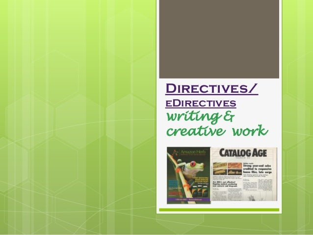 Directives.creative ppt