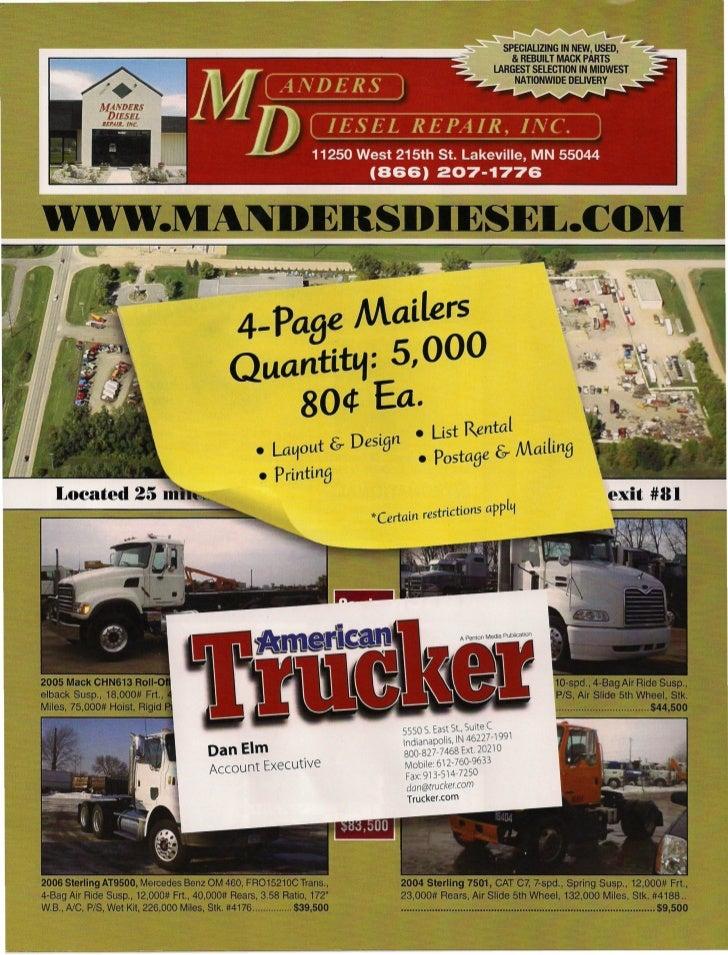 4- PaBe Mailers   Quantit&.f: 5,000        80¢ Ea.                         • Ust Rental       • La~out & DesiBn • postaBe ...