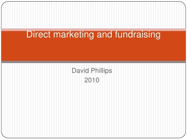 Direct Marketing And Fundraising
