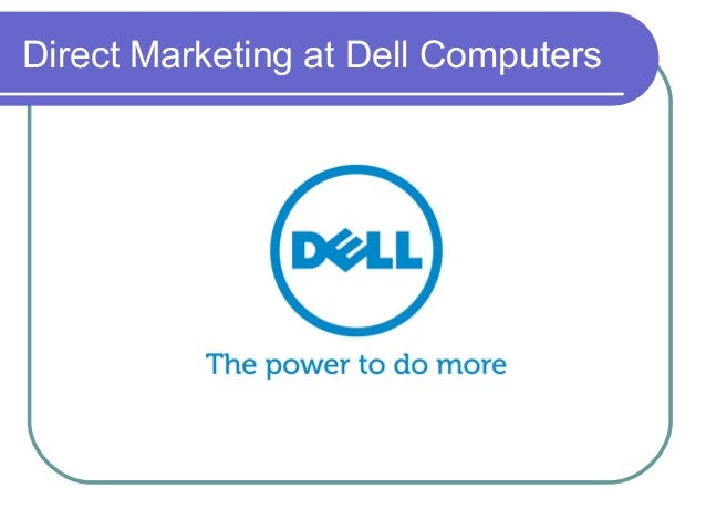 Direct marketing at dell