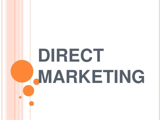 direct marketing 56124260 What is direct response marketing, anyway in part 1 of our direct marketing 101 series, we explain exactly what direct response marketing is and what it isn't.