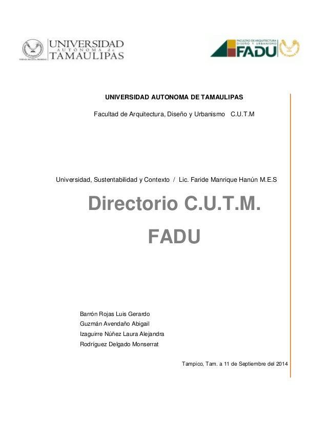 Directorio final usc