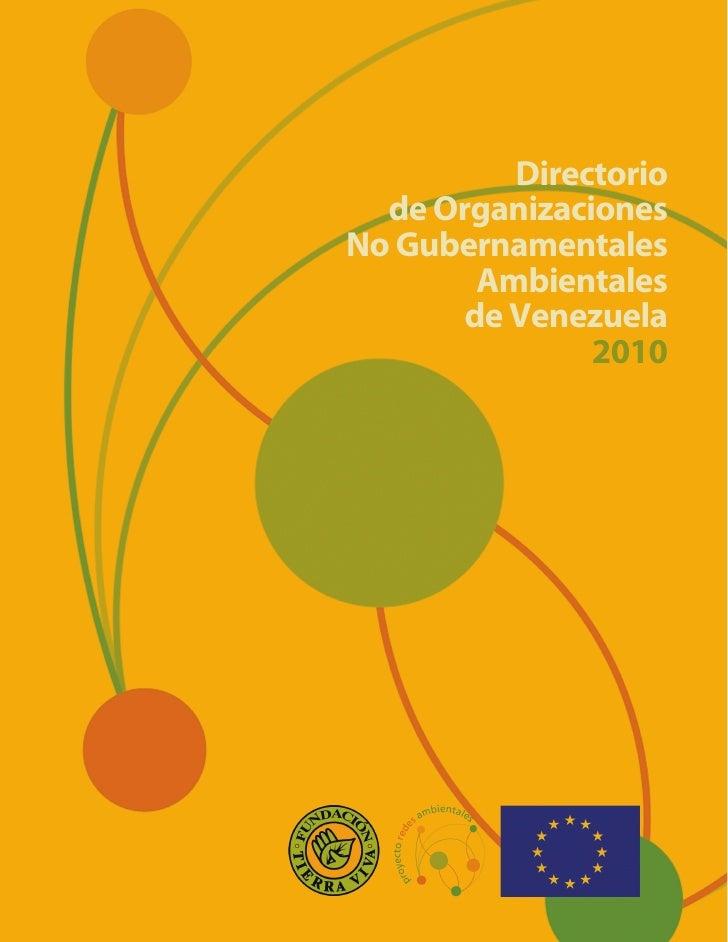 Directorio de ONG Ambientales de Venezuela (2010)