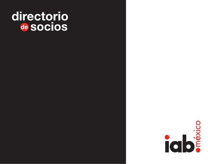 IAB Mexico Member Directory 2010