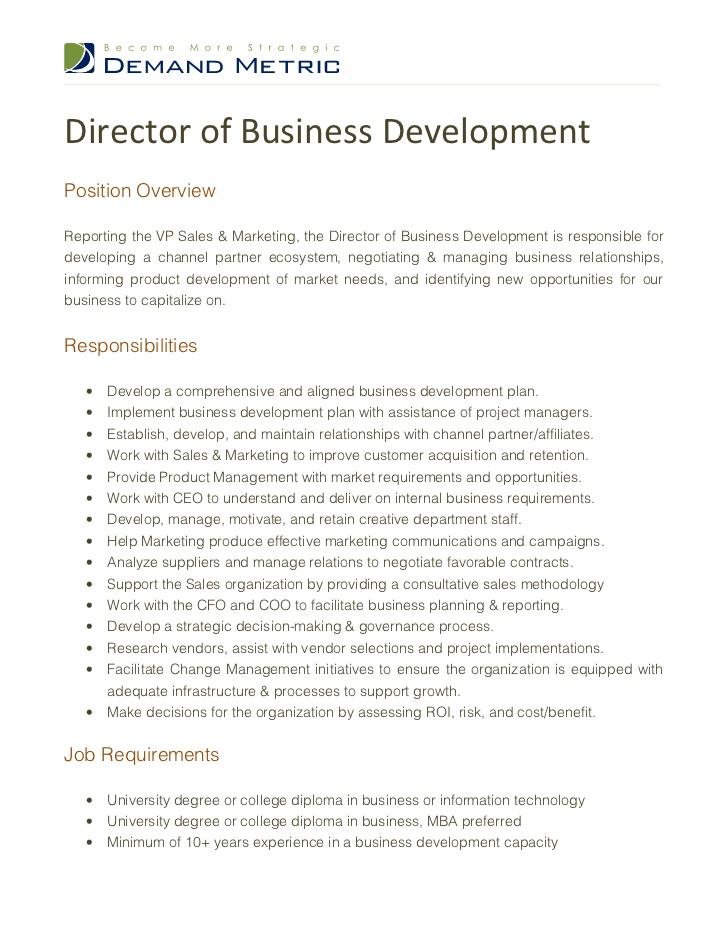 business development job description resumes Oylekalakaarico