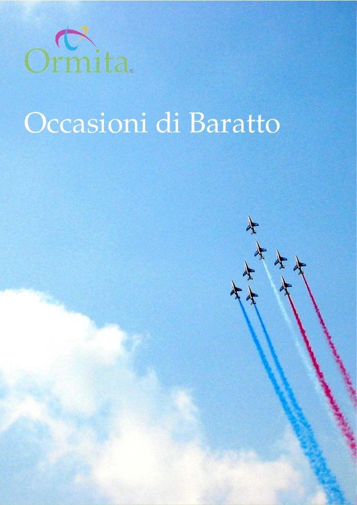 www.ormita.it Occasioni di Baratto                        Pag. 1