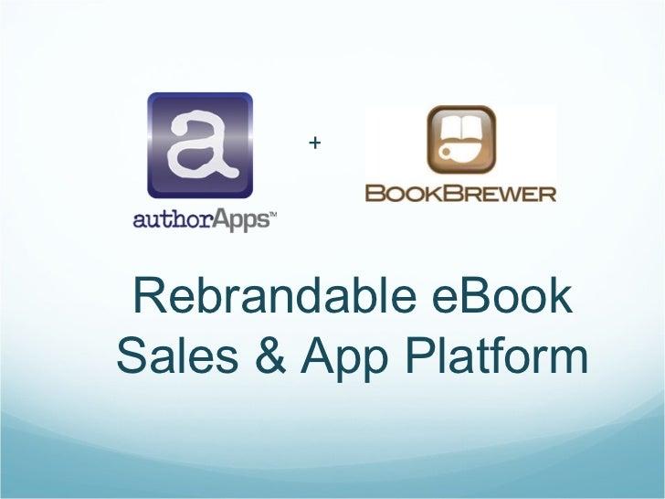 AuthorApps Rebrandable eBook Sales Platform