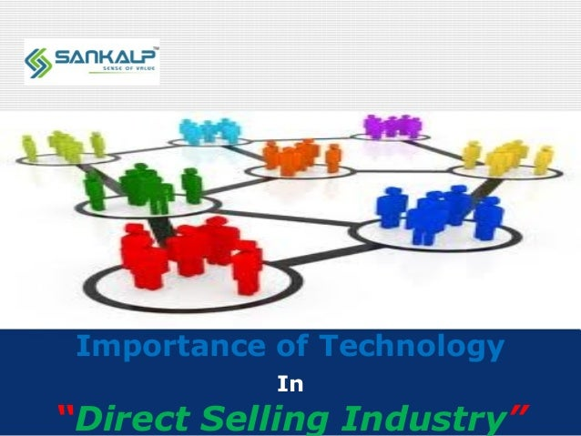 """Company LOGO Importance of Technology In """"Direct Selling Industry"""""""