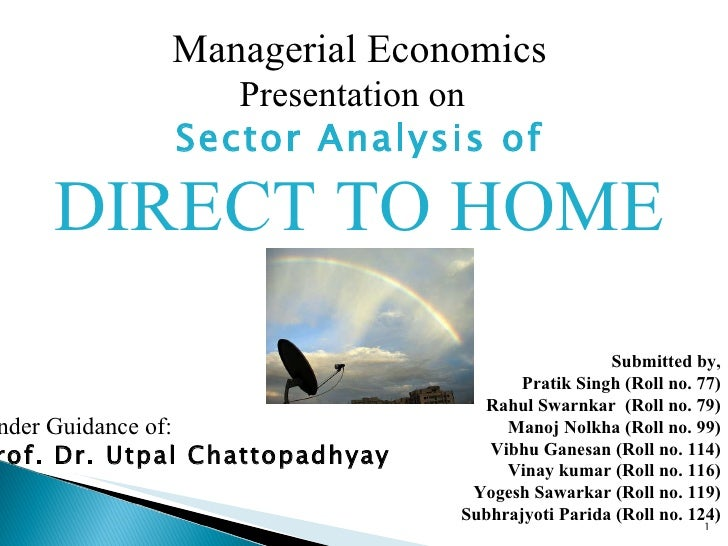 Direct to home - Analysis of Indian Market
