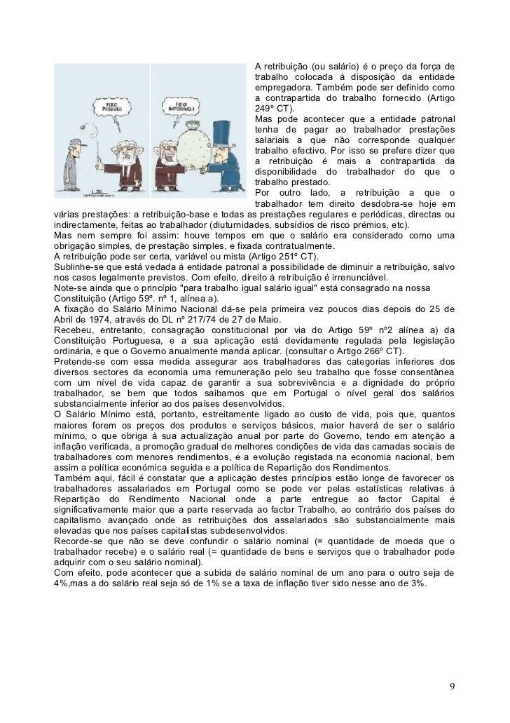 Artigos direito do trabalho