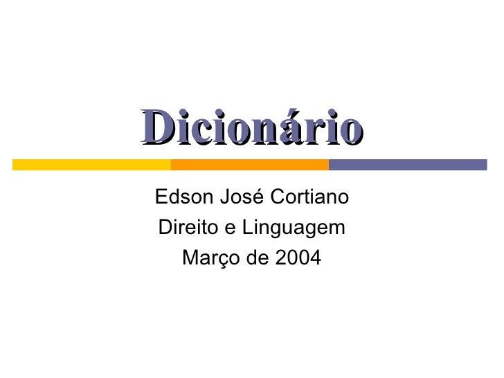 Direito   DicionáRio 180304