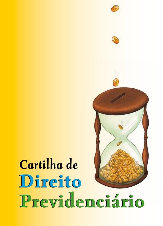 Cartilha deDireitoPrevidenciário