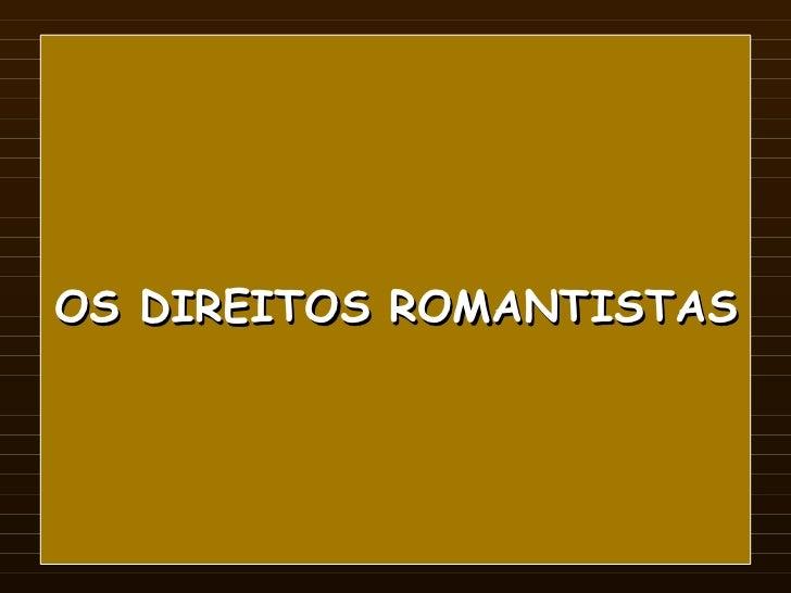Direito romanista
