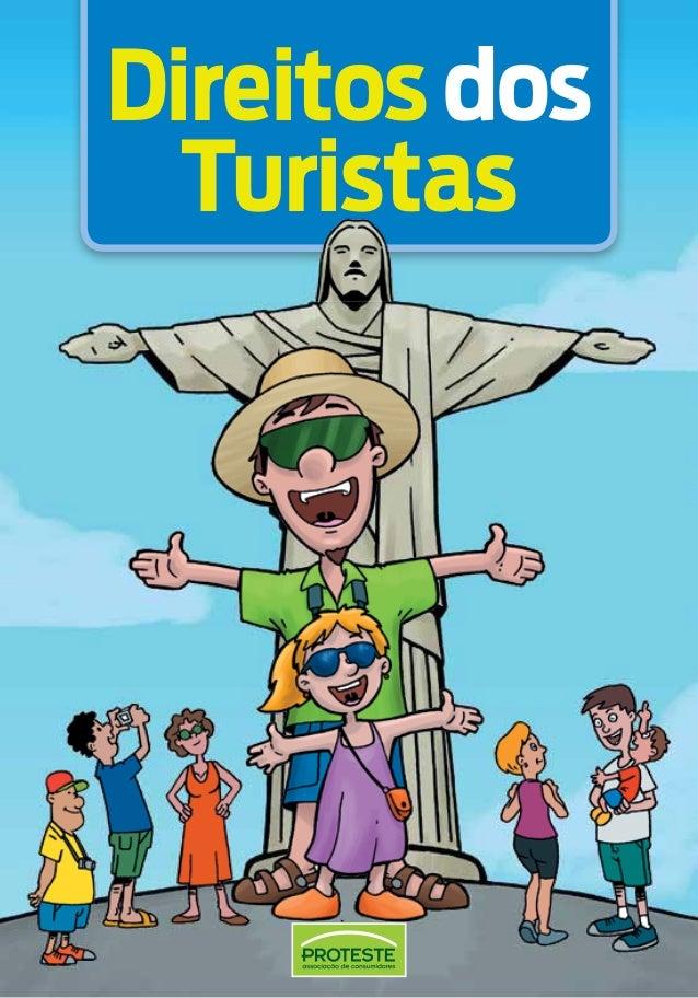 Cartilha dos Direitos dos turistas (Proteste)