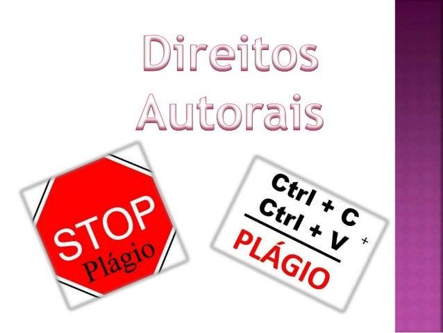 Plágio significa copiar ou assinar uma obra com partes ou totalmente reproduzida de outra pessoa, dizendo que é sua própri...
