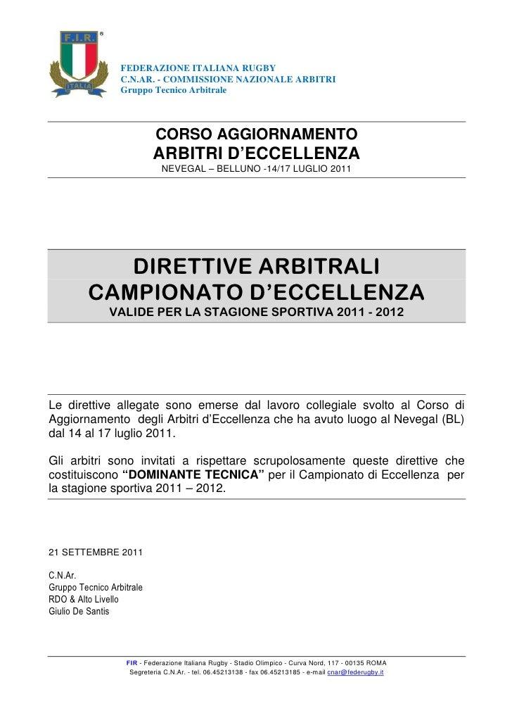 Direttive arbitrali campionato_di_eccellenza_2011-2012