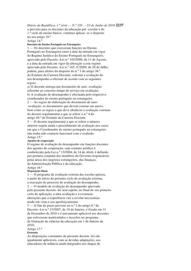Diário da república dec l 2
