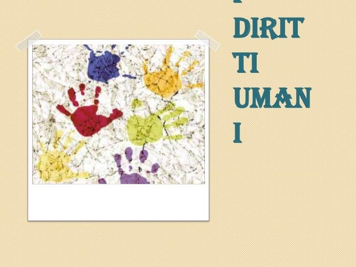 I Diritti Umani