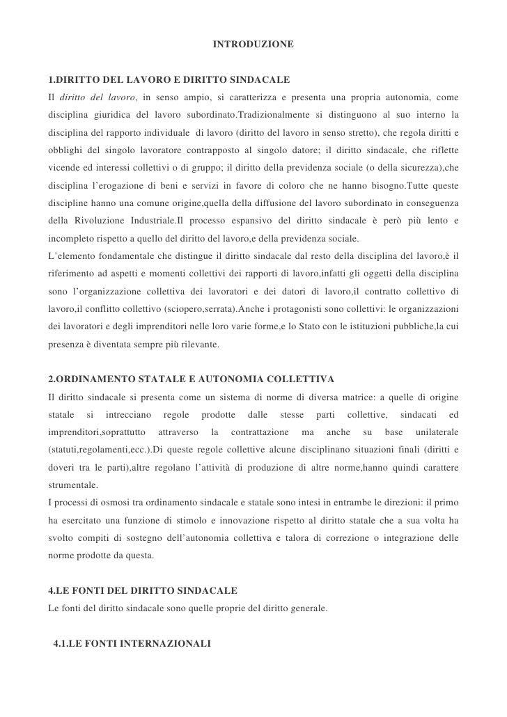 Diritto sindacale carinci -treu