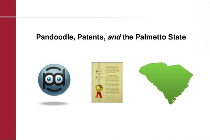 Pandoodle, Patents, and the Palmetto State