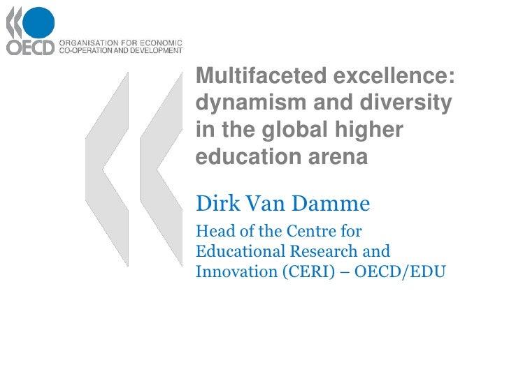 Dirk Van Damme - Multifaceted Excellence