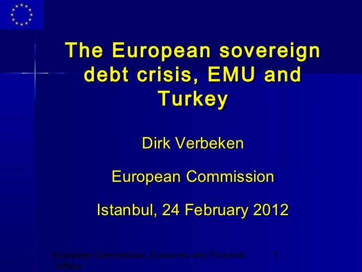 The Eurozone Crisis and Turkey
