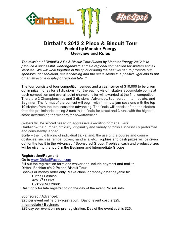 Dirtball 2 Pc & Biscuit Entry 2012