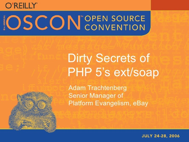 Dirty Secrets of the PHP SOAP Extension