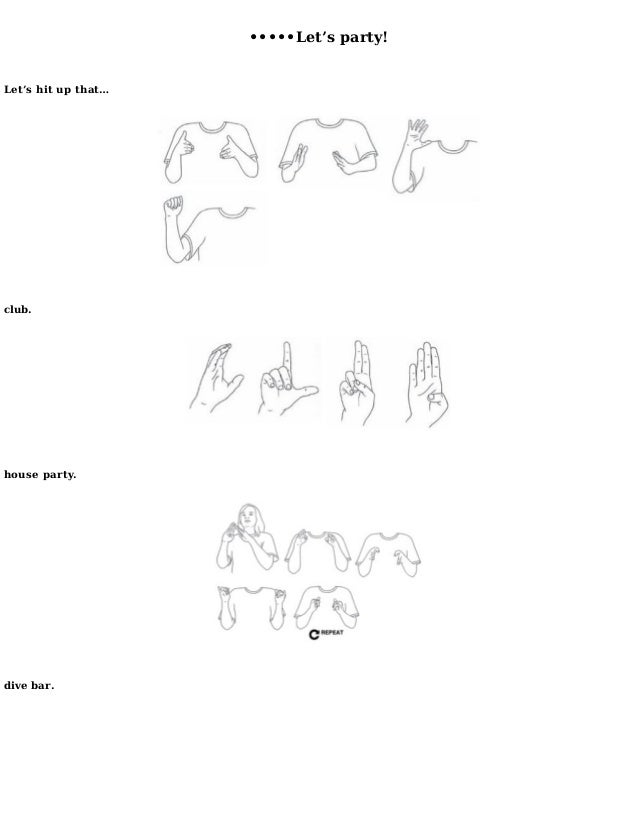 how to say your in sign language