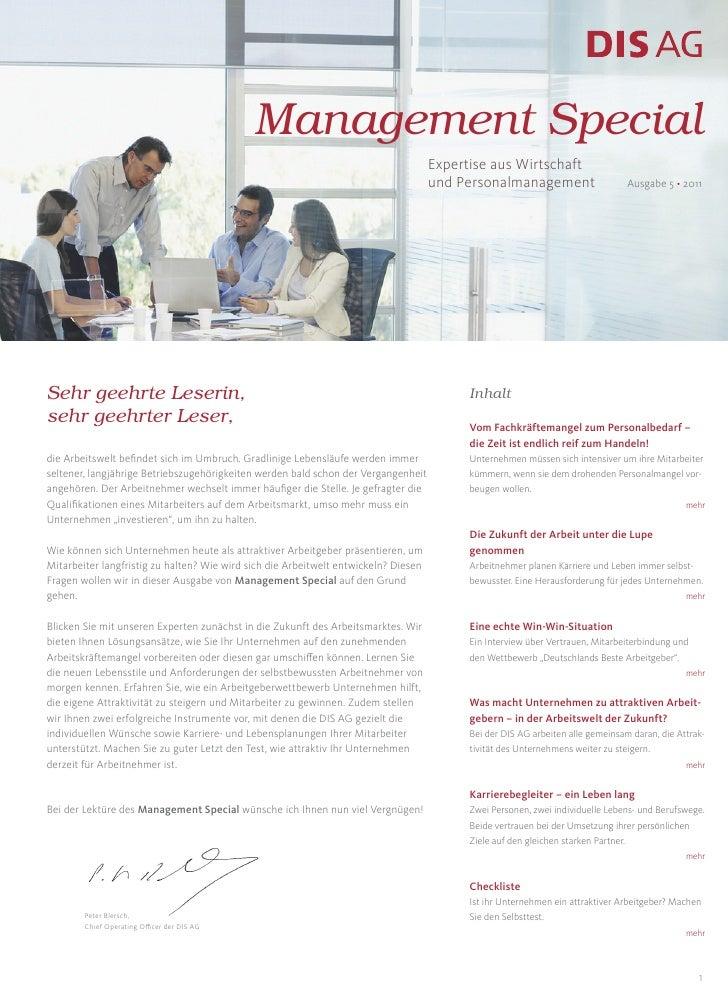 Management Special Ausgabe 5 2011