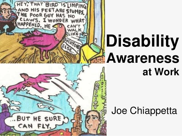 Disability Awareness at Work