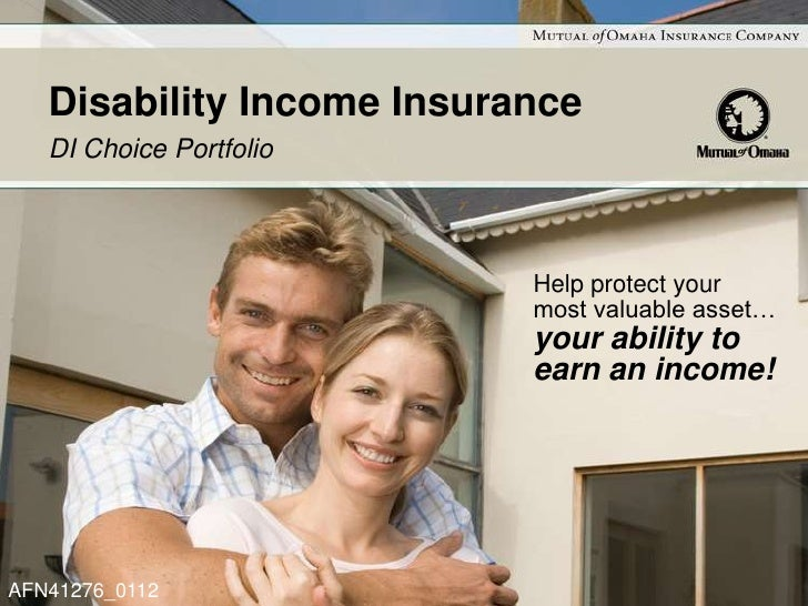 Disability Income Insurance   DI Choice Portfolio                           Help protect your                           mo...