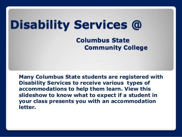 Disability services faculty orientation power point 2013.pptx