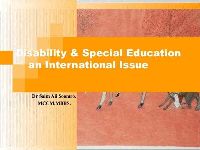 Disability & special education
