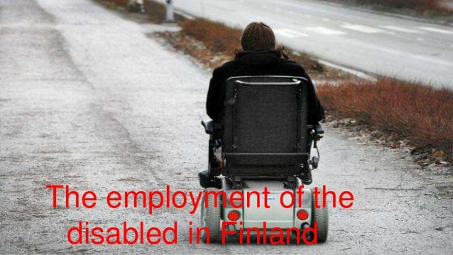 Disabled finland